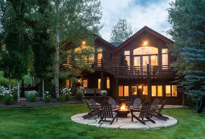 Seclusion at Snowmass, east-facing elevation