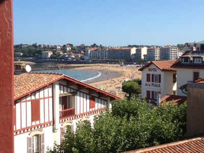 Photo for St Jean de Luz, 50 m from the beach. Bright bay view apartment. All on foot.