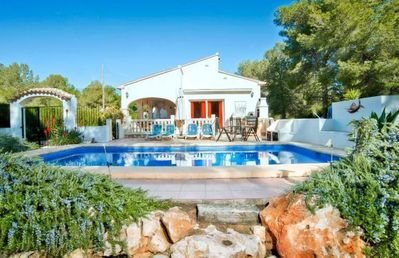 Photo for Villa Passarell,  3 beds,  pool.  UK TV Wifi, Air con and ceiling fans