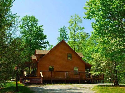Photo for Happinest is located in Wears Valley the quaint and quiet side of the Smokies