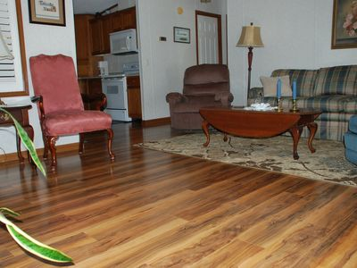Photo for Trout Fishing, Family Park, Restaurants, Groceries & Shops all in a 5 min. walk!