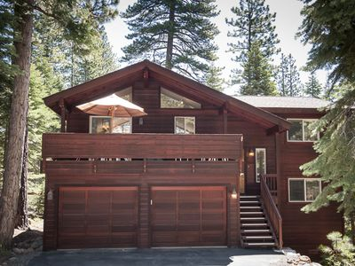 Photo for LUXURY Tahoe Vista - bunk room w/ ping pong, beach and park close by