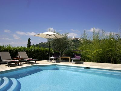 Photo for Splendid 17th century Provencal Bastide in Saint Paul de Vence