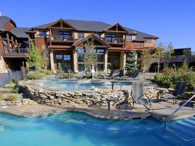 Photo for Feb 14 - 21, 2020 One Bdr Master Breck, CO Ski in/out 5Star Grand Timber