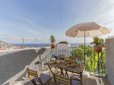 Photo for Arrifes I, fantastic view of Funchal bay.