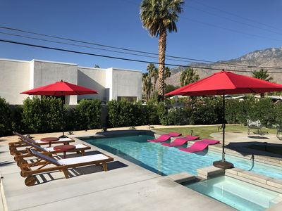 Photo for Private Retreat with Modern Pool close to Downtown