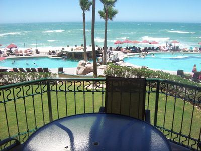 Photo for Beach Front Vacation Rental, 2nd Floor, Gated Entrance, 24 Hour Security