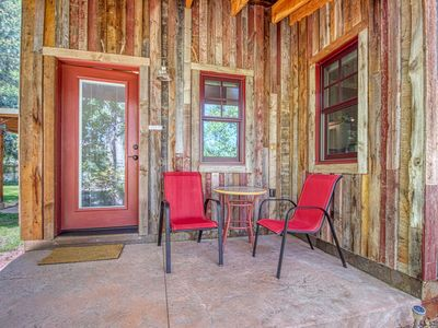 Photo for Dog-friendly studio space in town - walk to restaurants and Creekside Trail!