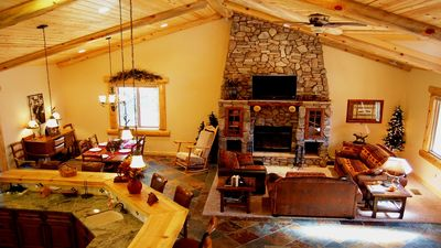 Photo for Beautiful, Luxury Cabin w/ Game Room and Spa - Sleeps 16 & Pets OK