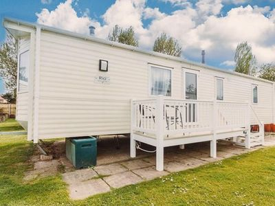 Photo for Luxury caravan for hire at Hopton Holiday village ref 80094