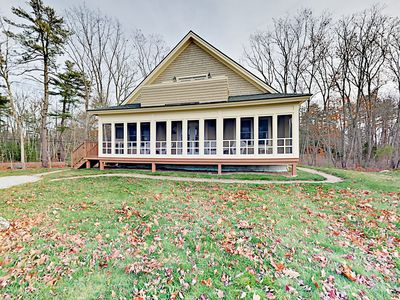 Photo for Wiscasset: 4BR w/ Partial Ocean View & Screened Porch - Walk to  Wiscasset