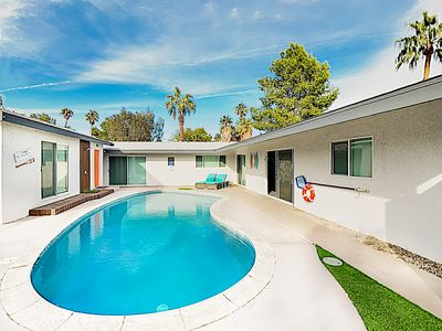 Photo for New Listing! Upscale Haven w/ Pool, Firepit, Gourmet Kitchen, near Downtown