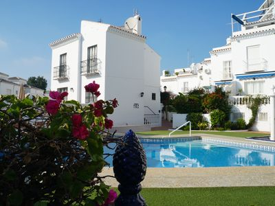 Photo for Townhouse in the popular Parador area of Nerja, close to beach & town centre