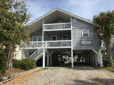 Photo for Best of Both Worlds!!! Canal Cottage, 2 Blocks from Beach