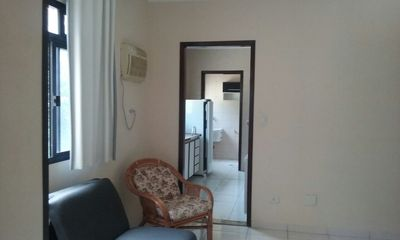Photo for Apartment with 2 bedrooms on the beach front line Itararé