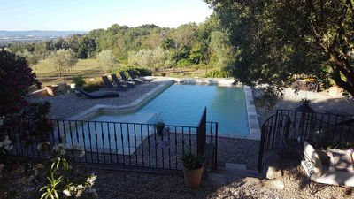 Photo for 60m2 in the heart of the olive trees at the gates of Provence - plain of MARSANNE