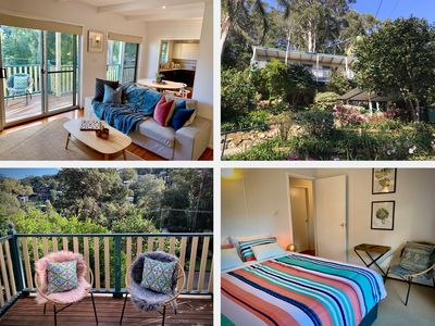 Photo for NEW LISTING - Cottage close to the surf beach with private garden