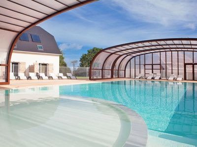 Photo for One bedroom Apartment, sleeps 4 in Auberville with Pool and WiFi