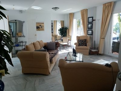 Photo for Sunny penthouse Puerto Banus, children welcome. Pets welcome. 2 huge terraces.