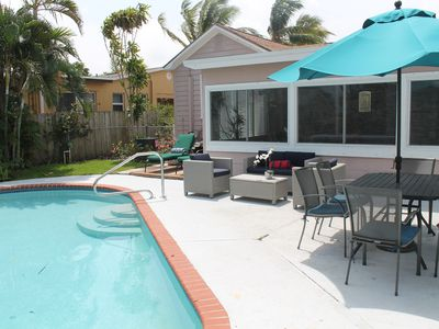 Photo for KEYWEST STYLE COTTAGE WITH SWIMMING POOL NEWLY RESTORED