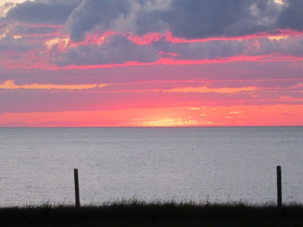 Oceanfront Home with Privacy and Fantastic Sunsets