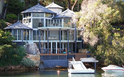 Photo for Cottage Point - Deep Waterfront House with Jetty and Hot Tub