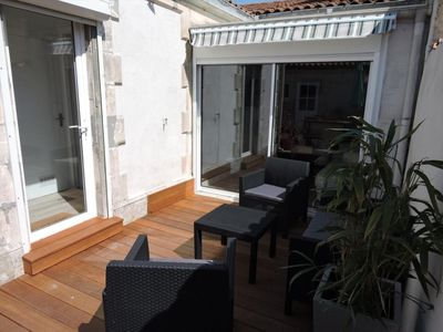 Photo for Standing one storey house in Rochefort (holidaymakers)