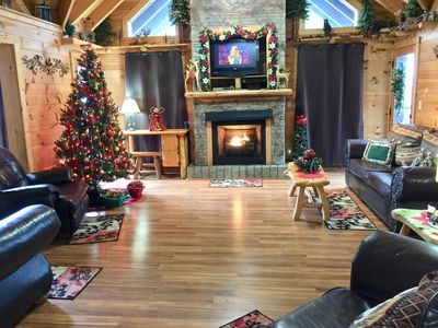 Photo for BOOK THIS FAMILY FRIENDLY CABIN NOW FOR THE MOST POPULAR 2019 DATES