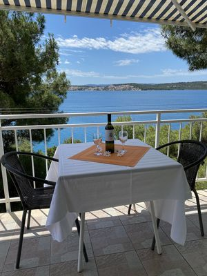 Photo for Sea View Apartment 1, next to Beach and Trogir Center