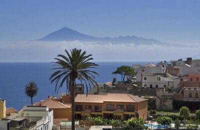 Photo for Calm and pure relaxation with a fantastic backdrop in the mountains Agulos and the sea