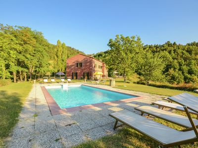 Photo for Villa with outbuilding  and swimming pool and panoramic view of the Apennines