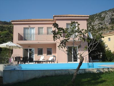 Photo for Nr KATELIOS, 2 Bed Grd Floor Villa Apartment - Private  Pool, Full A/C, Wi-Fi