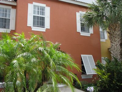 Photo for Nicely furnished home / townhome, on quiet and beautifully Emerald Island Resort