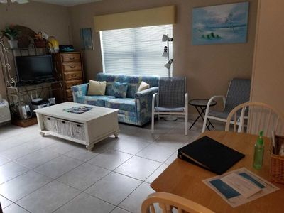 Photo for Cozy Studio Condo across the street from beautiful Vanderbilt Beach, Naples