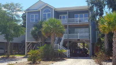 Photo for Upscale Home on Quiet Street With Ocean View Just Steps From Beach