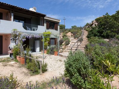 Photo for Villa near Chia with large garden, sea view caposchiera