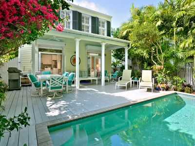 Photo for NEW! ~ MY KEYS RETREAT ~  Beautiful Updated Home w/ Pvt Heated Pool & Parking