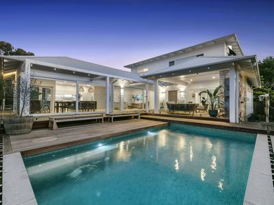 Photo for Family Paradise - swimming pool, walk to beach and village - Mount Martha