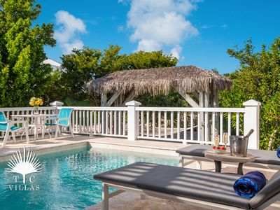 Photo for Nutmeg Cottage In Turks And Caicos, a 1BR on Grace Bay Beach