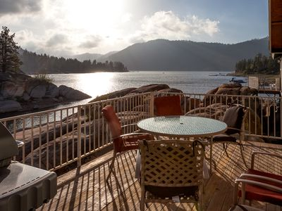 Photo for Scenic Lakefront Home with Hot Tub at a Great Price