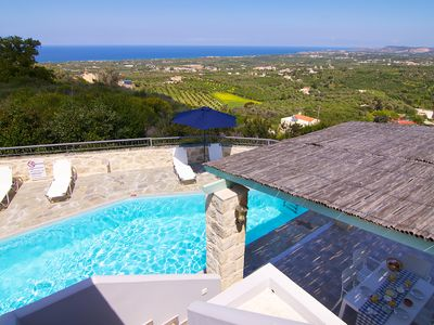 Photo for Located on a Hill Offering Panoramic Sea View and Full Privacy!