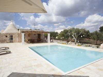Photo for Trullo Oasis Santo Stefano - private pool
