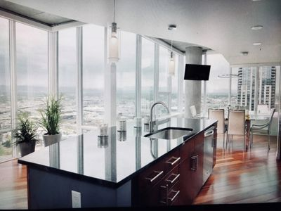 Photo for Heart of Downtown - SkyClub 2 Bdrm Condo with Mountain Views from Every Room