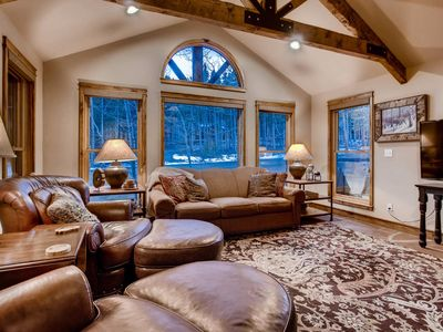 Photo for Lodge at Ski Hill: Virtual Tour, Hot Tub, Walk to Peak 8, Pool Table, Theater