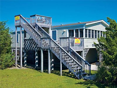 Photo for Classic Oceanside Beach House in Salvo! Only 6 Lots from the Beach! Dog-Friendly