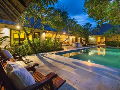 Photo for Garden View Villa with 3 Bedroom 10mins to Seminyak Square