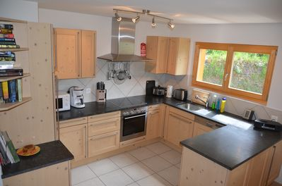 Kitchen - fully equipped with dishwasher