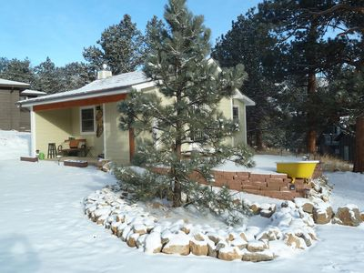 Photo for Historic, Romantic, Secluded 1910 Cabin; updated with modern amenities