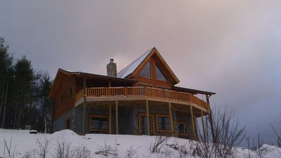 Photo for Stargazer - Panoramic Long Range Views, Hot Tub, WiFi, 4 Acres