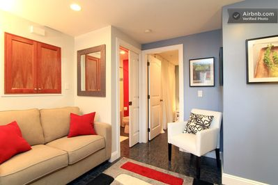 Comfortable, modern living space to relax and unwind or entertain